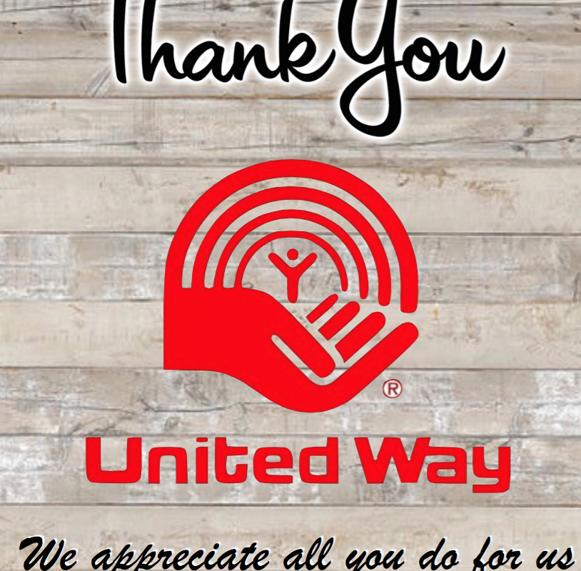 Thank You to the United Way!